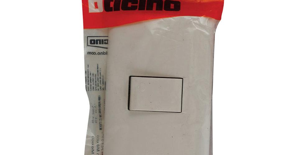 Interruptor para Timbre Bticino AE2102EB - Placa