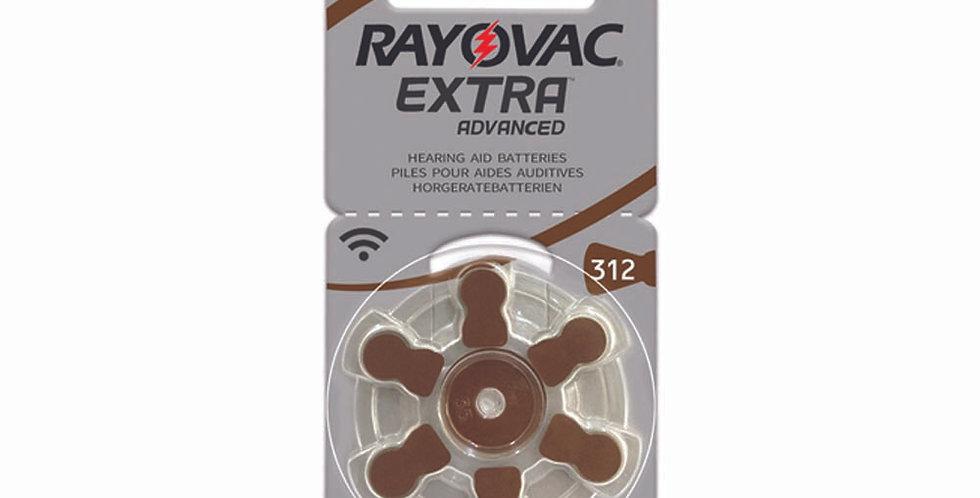 Batería para Audífono # 312 - Rayovac