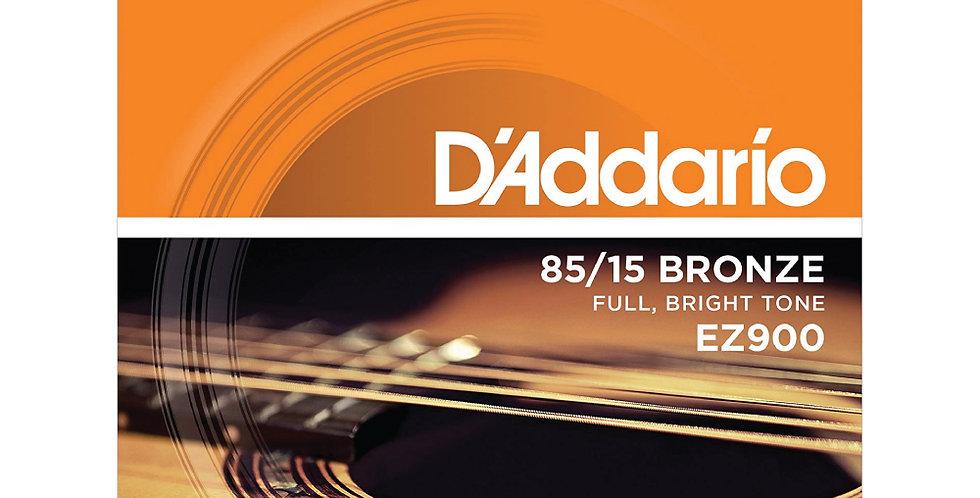 Cuerdas D'Addario Metal EZ900 Bronce .010