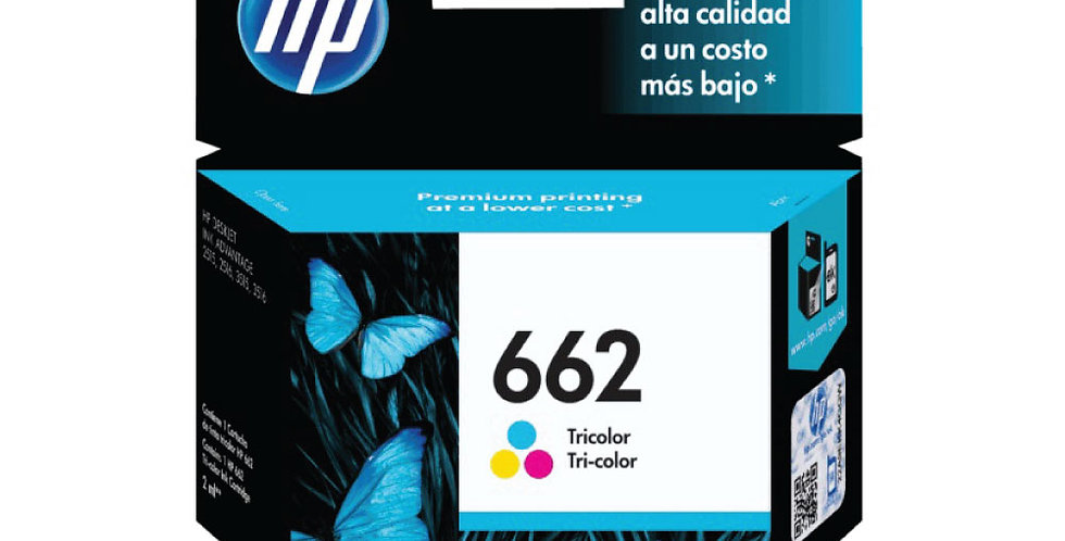 Cartucho de Tinta HP Color 662