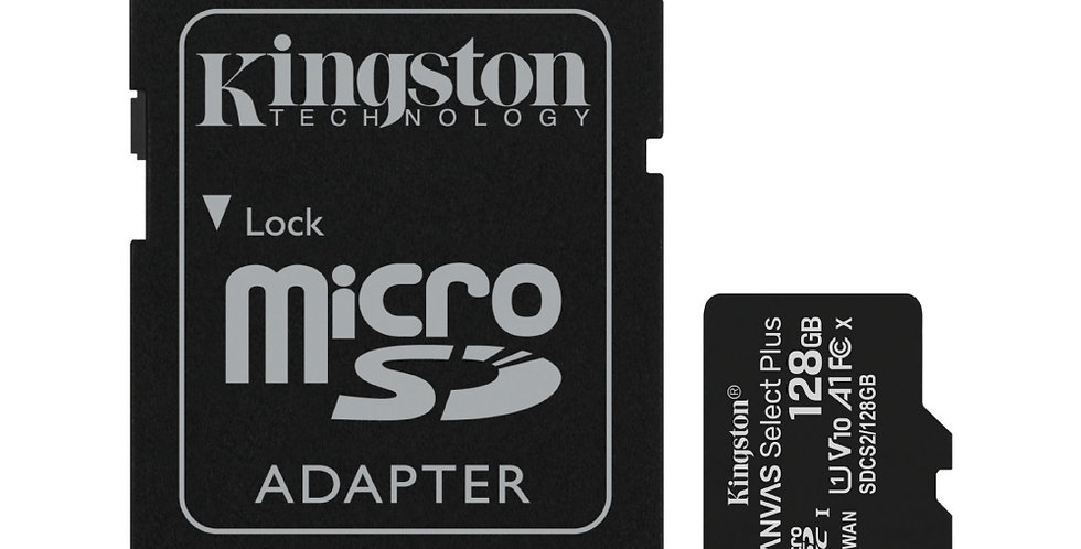 Memoria Kingston Micro SD 128GB - Canvas Select