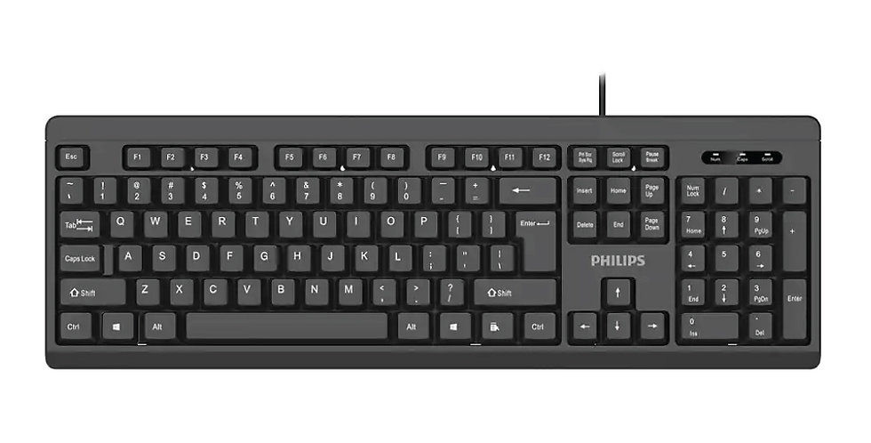 Teclado Philips K224 - USB