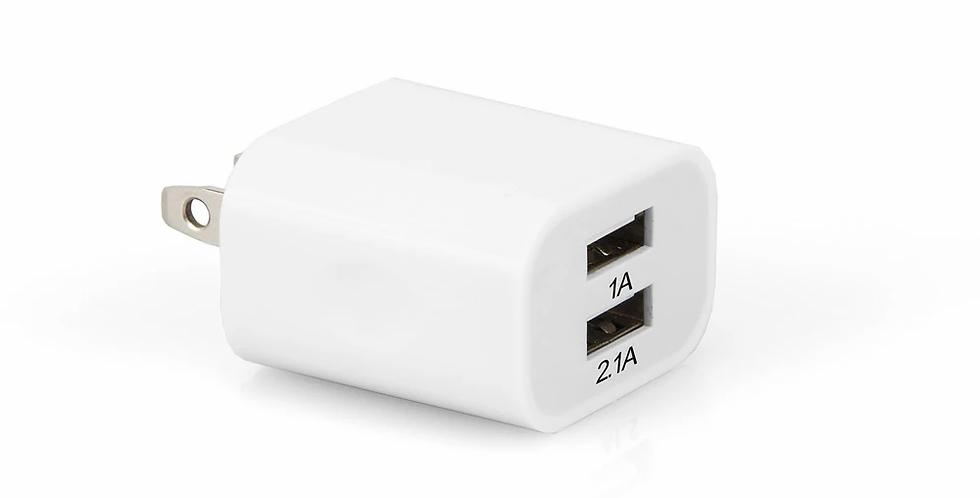 Cargador USB 2.1A - Argom Tech ARG-AC-0105