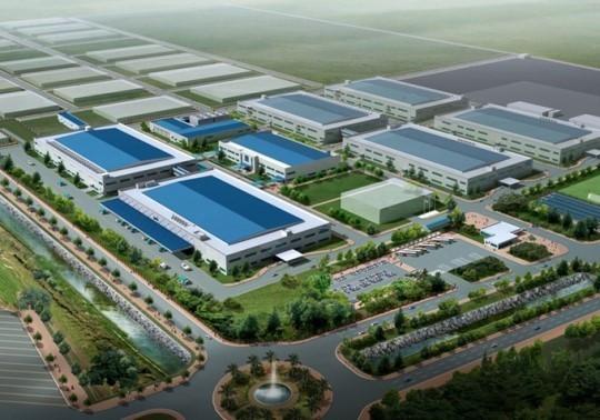 베트남 박닝성 옌퐁 SDC LCD 라인 모듈2 신축공사