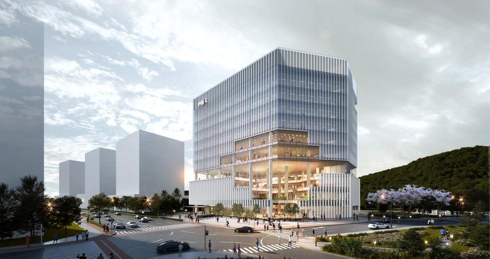 판교 제2테크노밸리 PSK CAMPUS 조성사업 시공계획 및 기술제안