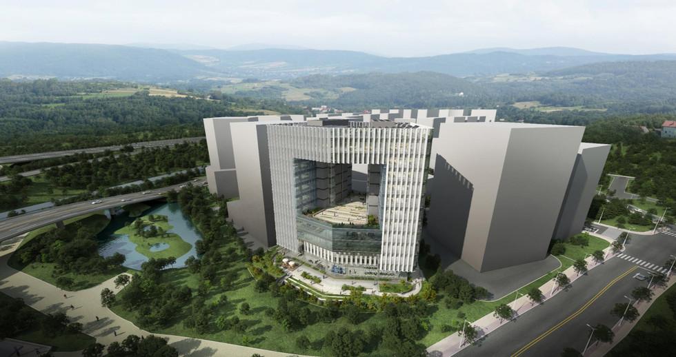 ISC 본사 건설사업 공정계획수립