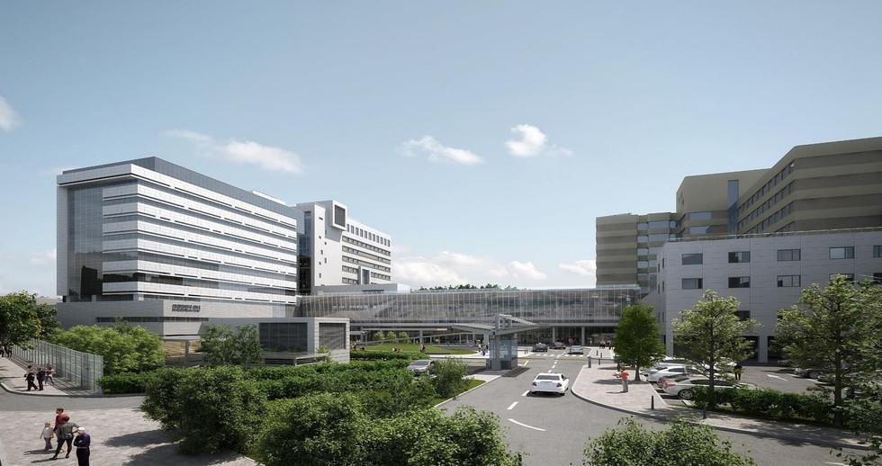 충북대학교병원 의생명진료연구동 BIM