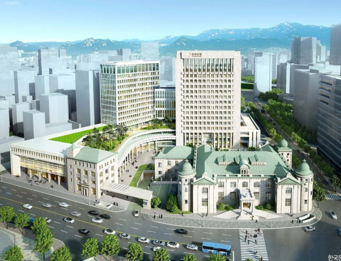 한국은행 통합별관 적정공기분석
