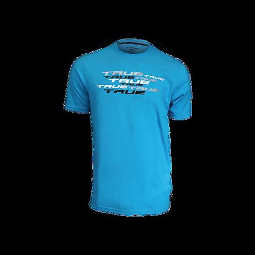 TRUE - T Shirt  SPLATTER Crew