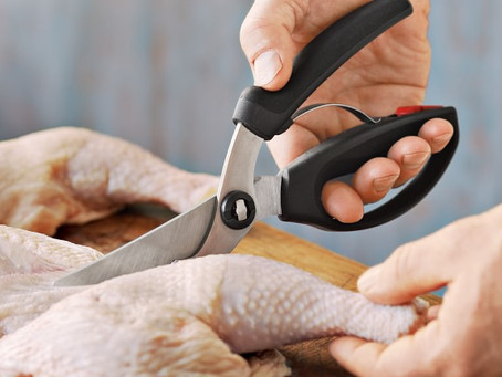 Do your scissors or poultry shears not cut even after sharpening?