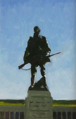 War Memorial, 2019, oil on board, 30 x 20cm_edited
