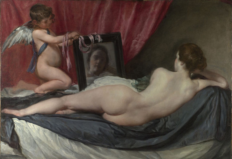 Diego Velázquez, The Toilet of Venus ('The Rokeby Venus) 1647-51 Oil on canvas, 122.5 x 177 cm