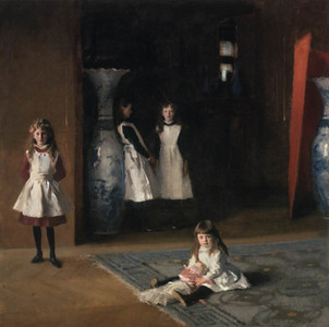 The Daughters of Edward Darley Boit, 1882, oil on canvas, John Singer Sargent, 222.5 x 222.5cm, Museum of Fine Arts, Boston