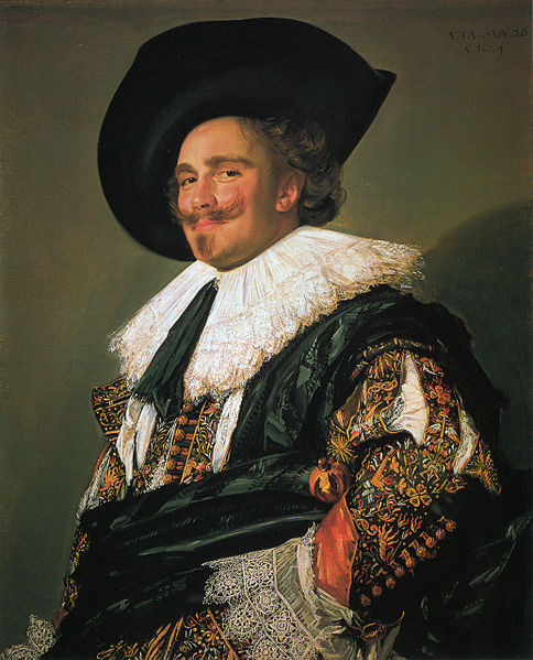 The Laughing Cavalier, Frans Hals, oil on canvas, 83 x 67.3cm, 1624, Wallace Collection, London