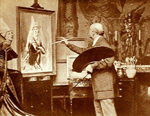 Miss Gwen Ffrangcon-Davies painted by Philip de Lazlo, 1933