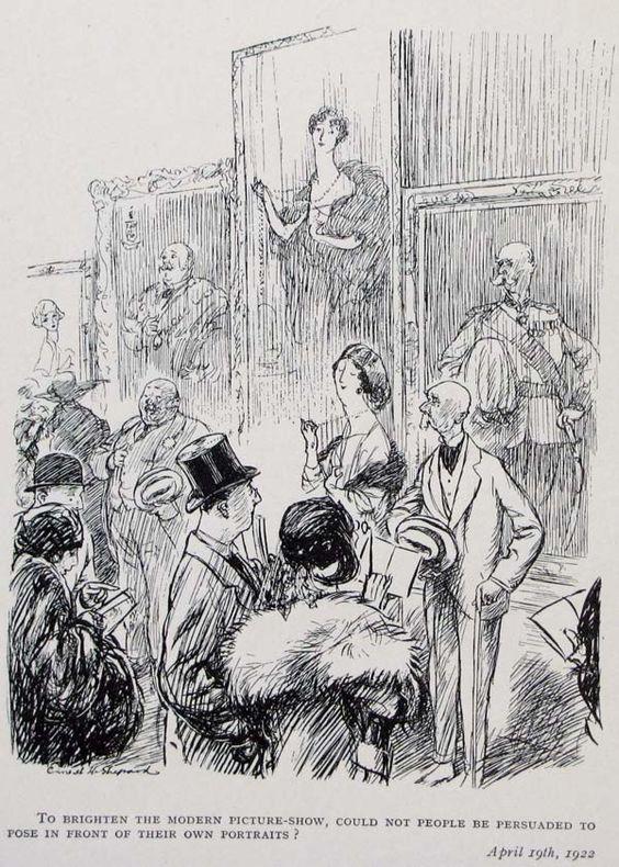 1922, Punch magazine, E.H. Shepard cartoon