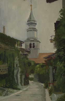 L'église d'Yvoire