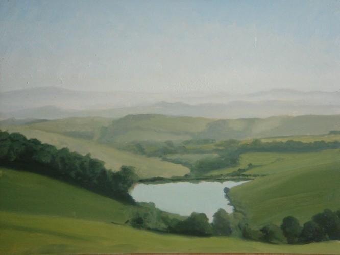 Suvignano reservoir