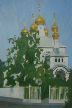 L'église russe, Genève