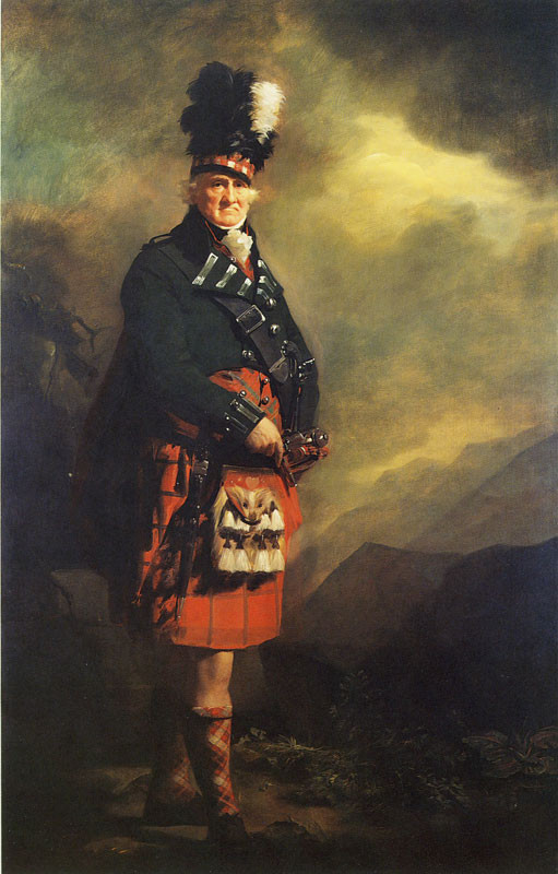 The MacNab by Sir Henry Raeburn, oil on canvas, 241 x 152cm, c 1814, Diageo plc (on loan to Kelvingrove Art Gallery, Glasgow)