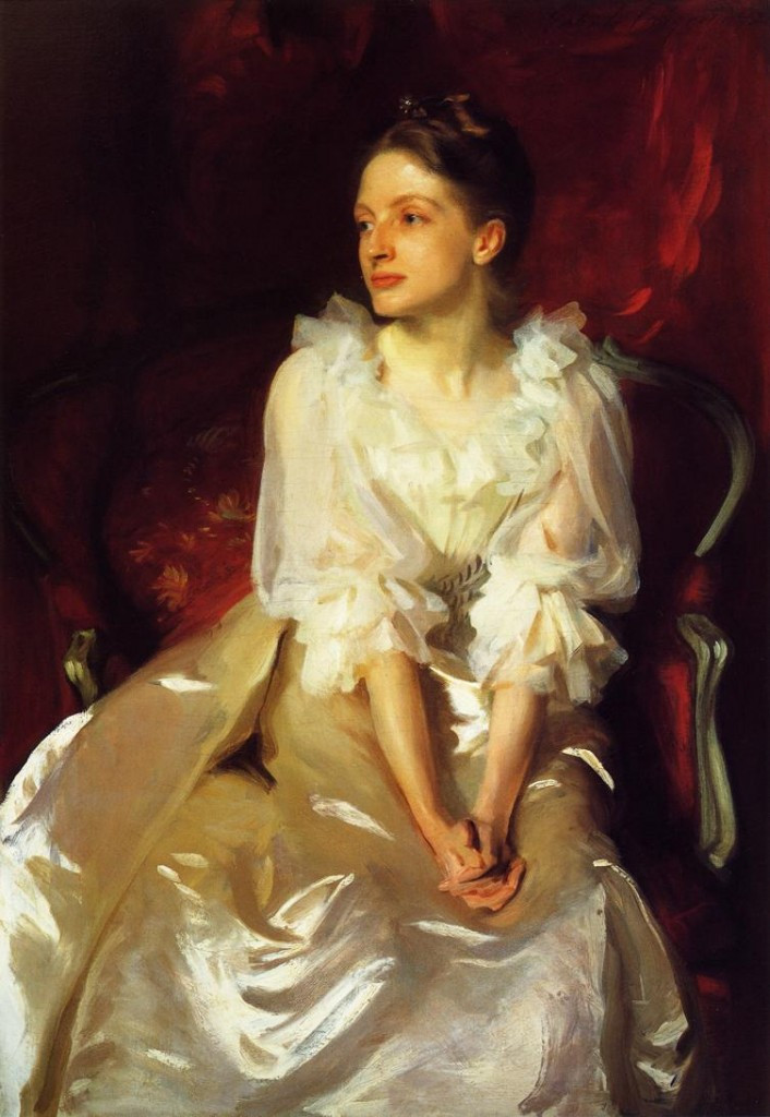 Helen Dunham by John Singer Sargent, oil on canvas, 122 x 81cm, private collection, 1892
