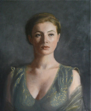 Louisa, 2009, oil on canvas, 60 x 50cm.j