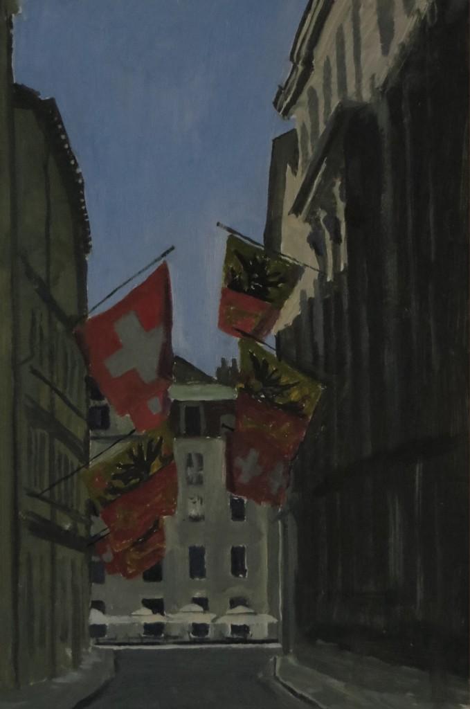 Rue de l'Hotel de Ville, Genève
