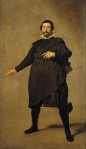 Pablo de Valladolid, Diego Velazquez, 1636 – 1637, oil on canvas, 212.4 x 125cm, Museo del Prado, Madrid
