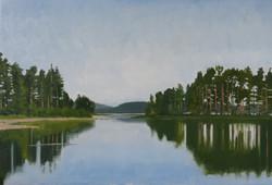 Lake Siljan from Tällberg
