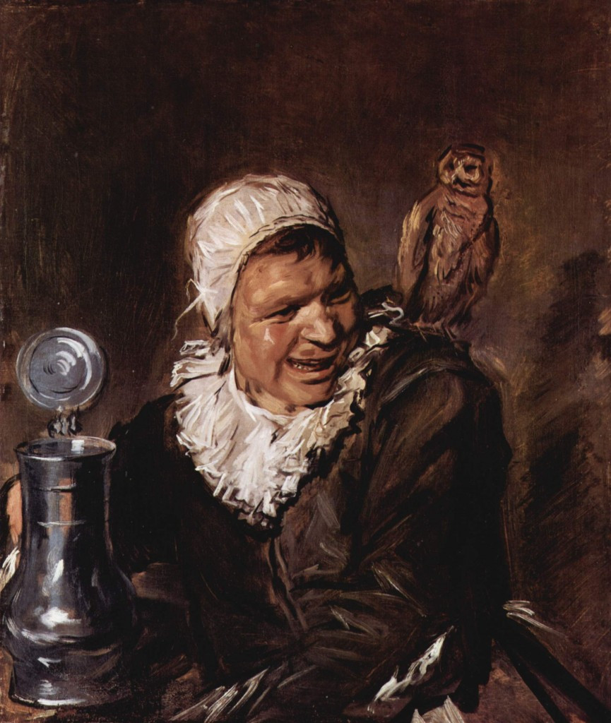 Malle Babbe, Frans Hals, oil on canvas, 75 x 64cm, 1633 – 1635, Gemaidegalerie, Berlin