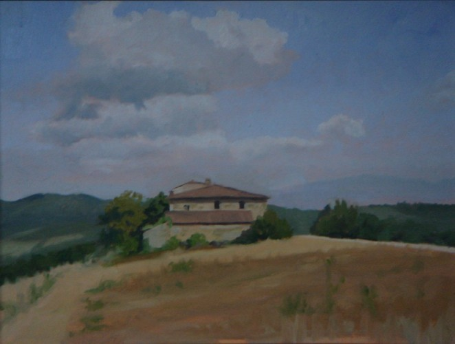 Maison abandonnée, Chianti