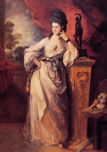 Lady Ligonier by Thomas Gainsborough, oil on canvas, 236.2 x 154.9 cm, 1770, Huntington Library Art Collections, San Marino, USA