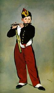 Le joueur de fifre, 1866, 161 × 97 cm, oil on canvas Edouard Manet, Musée d'Orsay, Paris