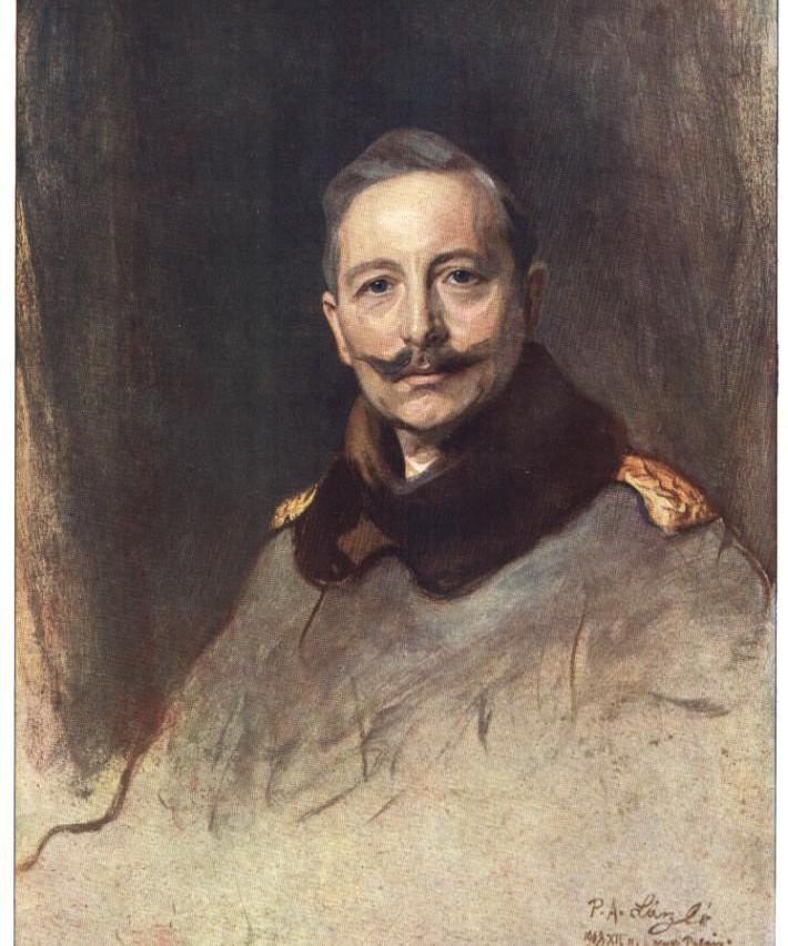 Wilhelm II By Philip de László, oil on canvas, 1908