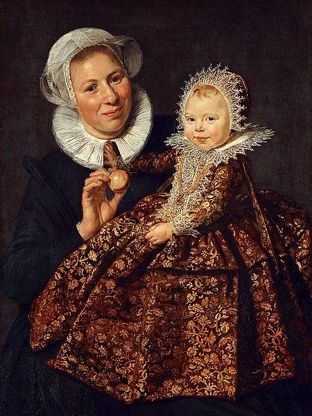 Catharina Hooft and her nurse, Frans Hals, oil on canvas, 86 x 65cm, 1619 – 1620, Gemaeldegalerie, Berlin