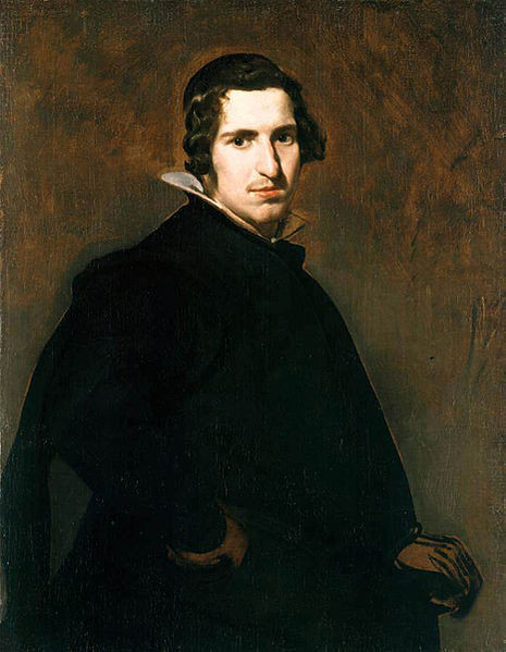 Portrait of a Young Man by Velasquez, c. 1629, oil on canvas, 89 x 69cm, Alte Pinakothek, Munich