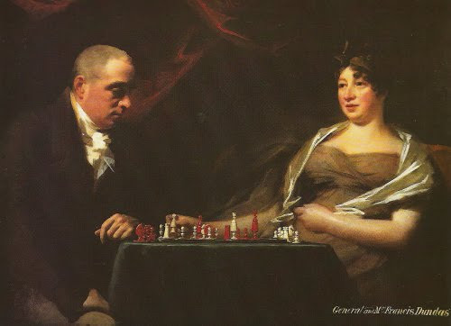 General Francis Dundas and Eliza Cumming, Mrs Francis Dundas ( 1755 – 1824 ) Sir Henry Raeburn. (Collection at Aniston House, Midlothian)