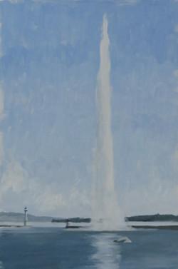 Le jet d'eau, Genève