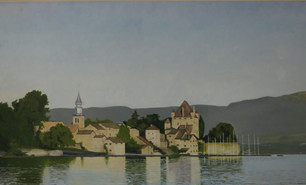 Yvoire – Landscape at Different Times of the Day