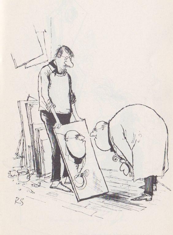 Cartoon by Ronald Searle