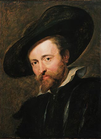 Self-portrait, Piers Paul Rubens, c. 1628-1630, oil on canvas. 61.5×45 cm, Rubenshuis, Antwerp
