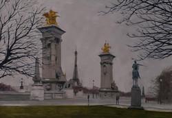 Le pont Alexandre III, Paris