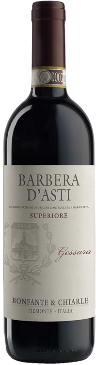 Barbera D'Asti Superiore Gessara DOCG - Bonfante & Chiarle - Piedmont