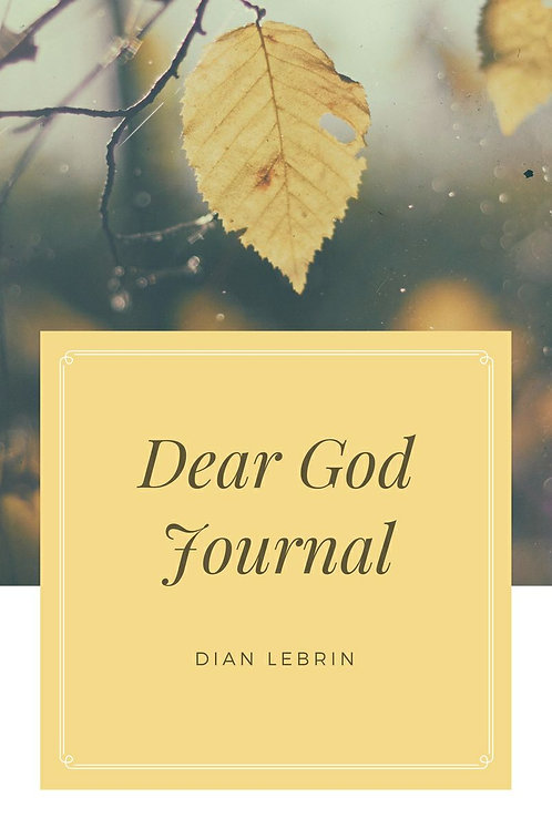 Dear God Journal