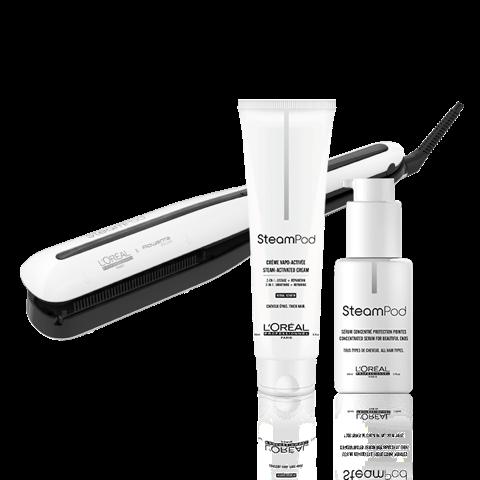 L'Oréal Professionnel - Ensemble Steampod 3.0 - cheveux épais