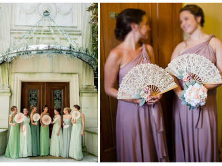Alternative Bridesmaids Bouquets