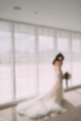 Luxury bride at Aga Khan Museum Toronto planned by Envision Weddings and Events