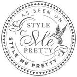 Carly + Alex as seen on Style Me Pretty