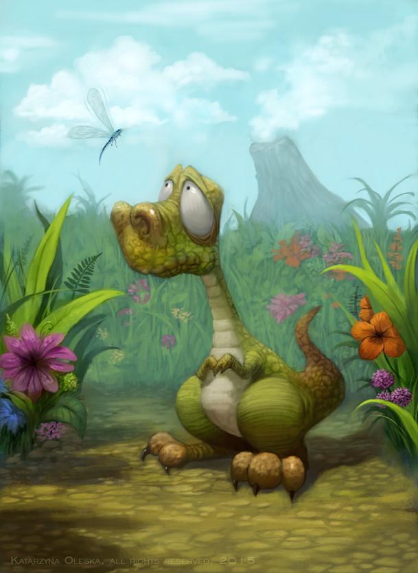 Toby, the Anxious Dinosaur