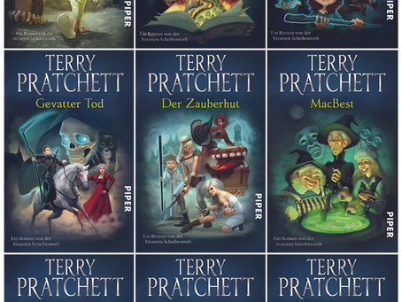 Terry Pratchett Covers